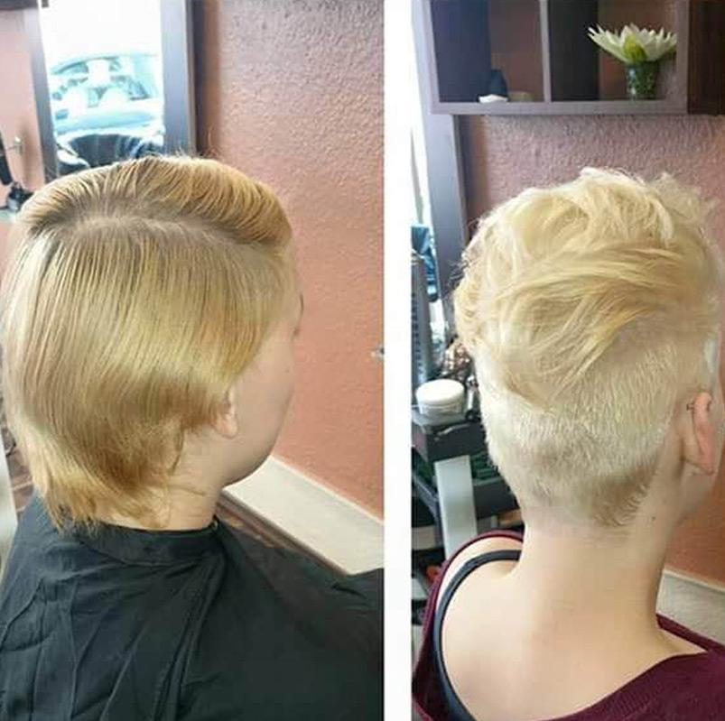 Haarschnitt 4